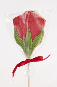 Rosas de galleta